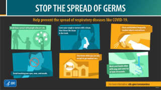 Stop the spread of germs
